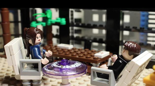 Трейлер «50 відтінків сірого» перезняли в Lego-версії (відео)