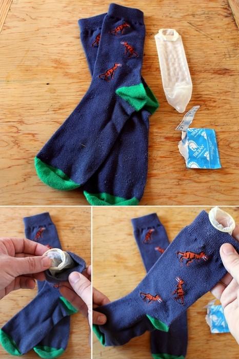10 способів використання презерватива в побуті
