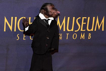 Мавпа отримала «Оскар» за внесок у кінематограф