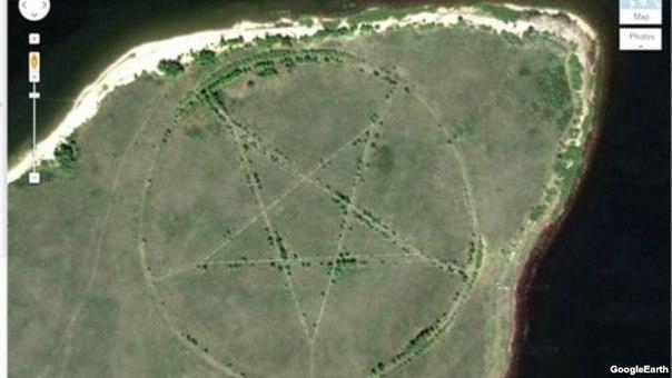 Невідомі місця, які можна побачити на Google Maps