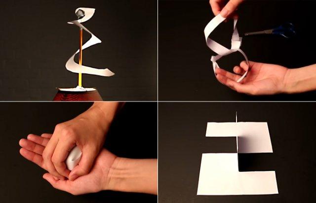 10 трюків з папером, які припадуть до душі не лише дітям, а й дорослим (відео)