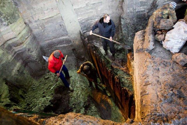 Археологи віднайшли частину вулиці середньовічного Києва (фото)
