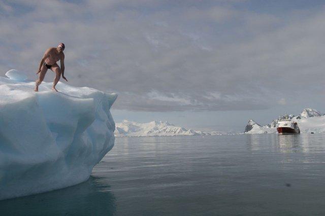 Здійснено найбільш південний заплив в історії людства (відео)