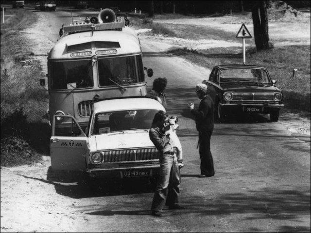 «Три мушкетери» за кадром фільму (фото)