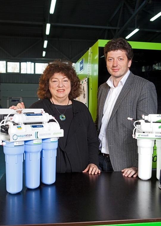 Бізнес на воді. Сім'я киян створила компанію, яка зайняла половину українського ринку систем очищення води