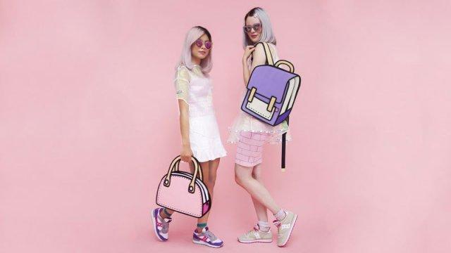 Ці мультяшні сумки лише виглядають як намальовані. Вони справжні на всі 100%