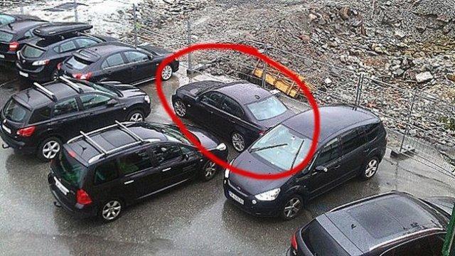 Чому потрібно паркувати авто за правилами (фото)