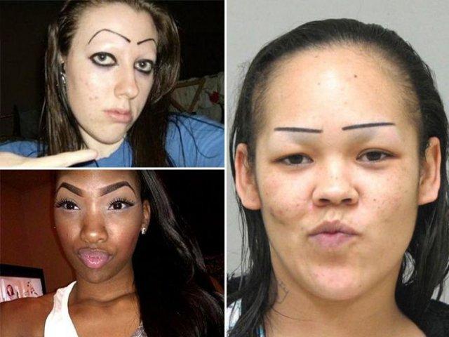 Краса - страшна сила! Фото жінок, які переборщили з макіяжем