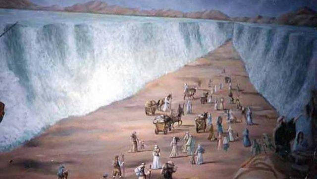Археологи признають перехід євреїв через Червоне море