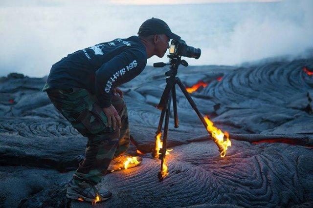 На що готові фотографи заради хорошого кадру (фото)
