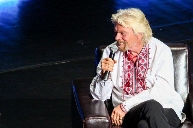 Річард Бренсон про Україну, підприємництво та стартапи