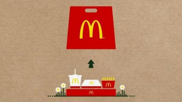 McDonald's перетворив пакет в піднос (відео)