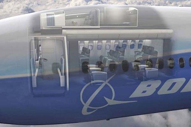 Де сплять стюардеси під час довгих перельотів (фото)
