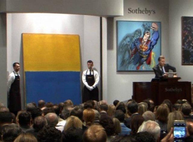 46 мільйонів доларів за «Жовтий і синій»