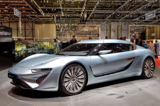 Німці придумали спортивний автомобіль на солоній воді (відео)
