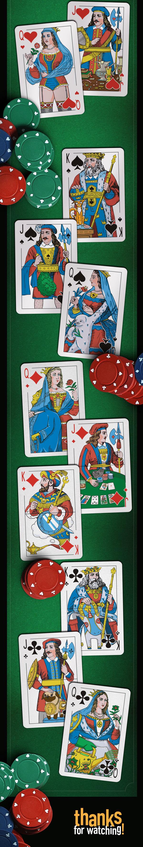 Що ховається нижче пояса гральних карт?