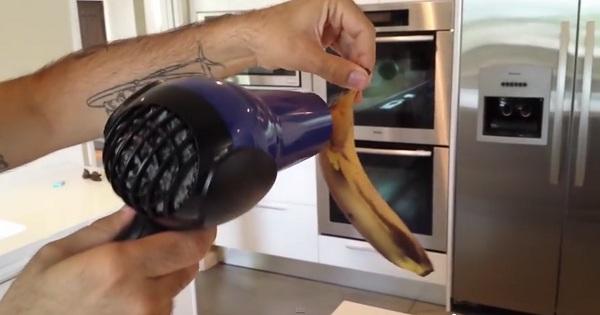 Що робити з бананами, які почорніли? (відео)