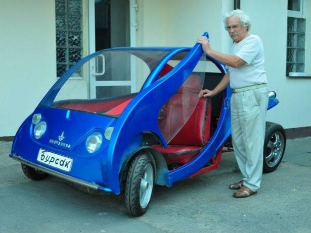 Киянин виробляє власні автівки по 18 тис. грн. (фото)