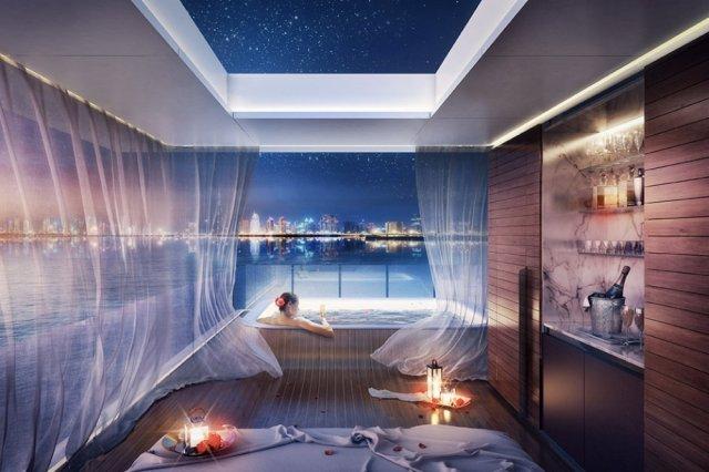Плавучі вілли в Дубай (фото)