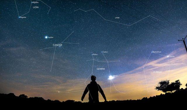 30 червня в небі зустрінуться Венера та Юпітер (відео)