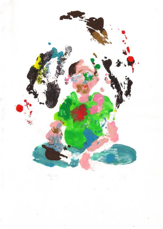 Художник спробував 52 види наркотиків. Ось його автопортрети, зроблені під кайфом