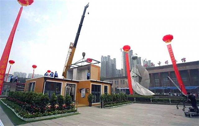 У Китаї за 3 години на 3D-принтері надрукували повноцінну двоповерхову віллу