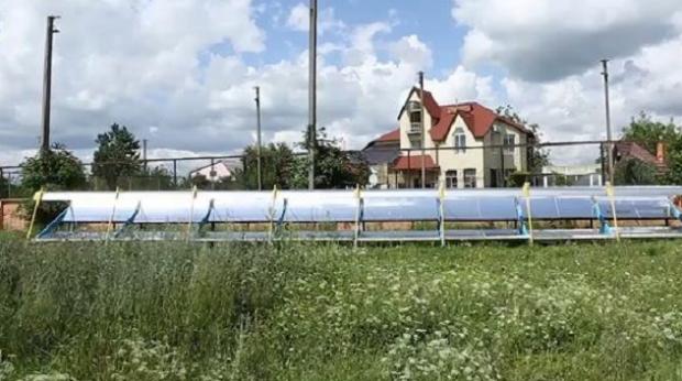 Українець створив дешеву сонячну станцію
