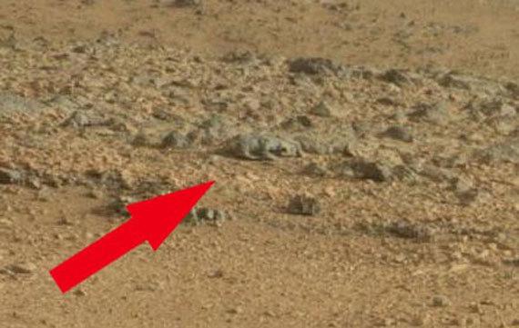 11 загадкових об'єктів, помічених на Марсі (фото)