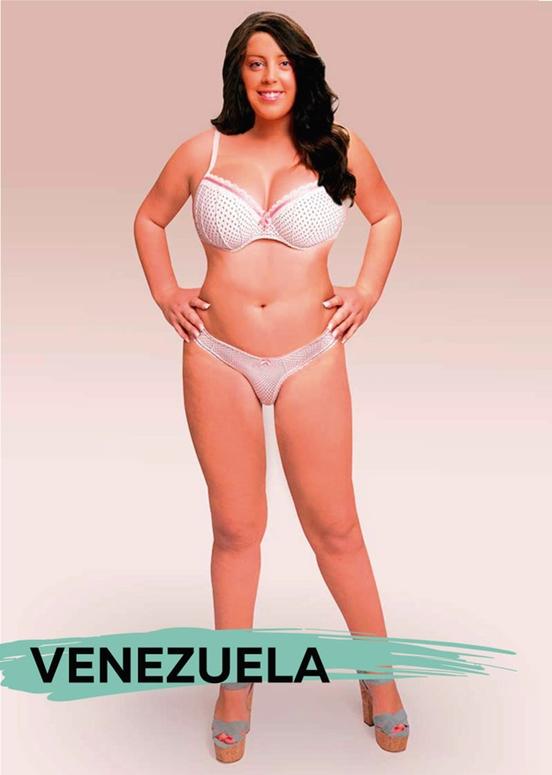 Майстри фотошопу з різних країн продемонстрували еталони жіночої краси. Україна теж є (фото)