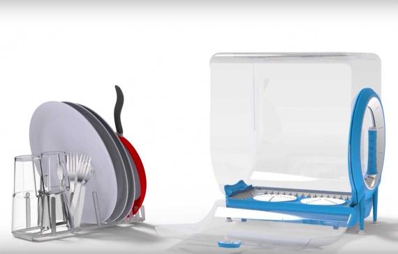 Circo - ручна посудомийна машинка економить час, місце, воду і гроші