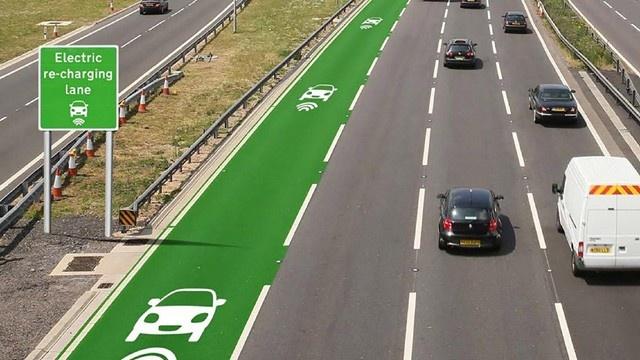 Електромобілі будуть заряджатися від автошляхів