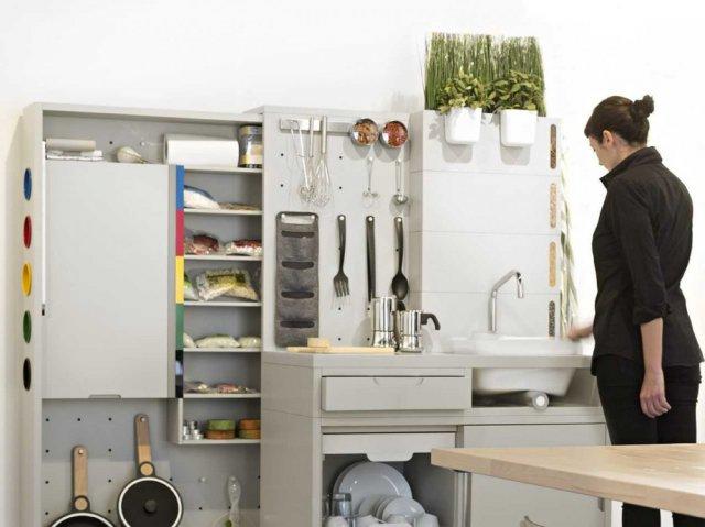 IKEA розробила кухню без холодильника і плити (фото)