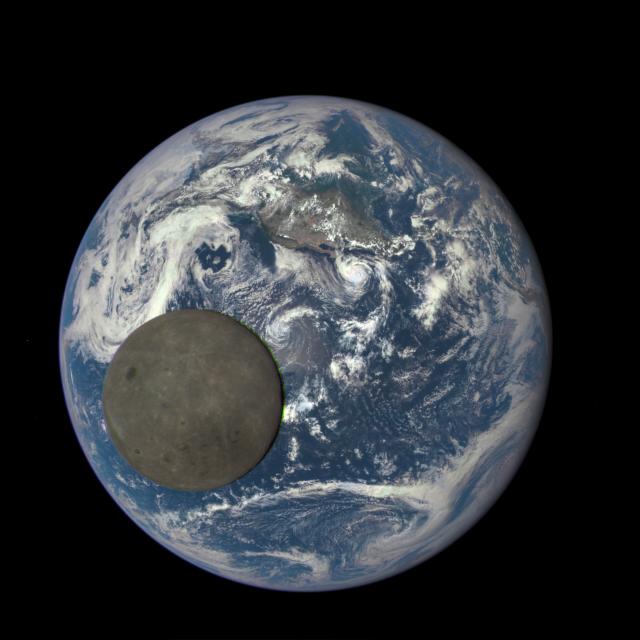 NASA продемонструвала зворотній бік Місяця (відео)