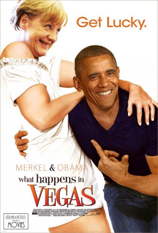 Меркель, Путін і Обама в ролі героїв відомих кінофільмів (фото)