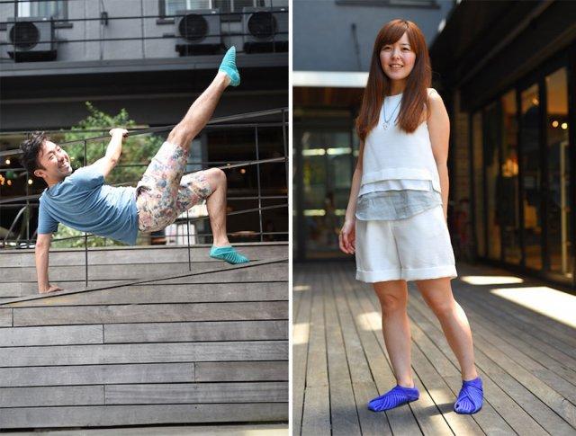 Японський дизайнер придумав взуття, яке ідеально облягає ногу (відео)
