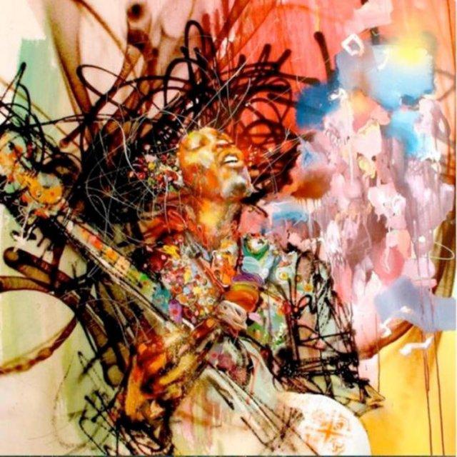 Графіті ціною в $200 млн. Стільки заробив художник за розпис стін офісу Facebook (фото)