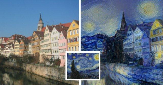 Розроблено алгоритм, який перетворює фотографії в картини в стилях відомих художників
