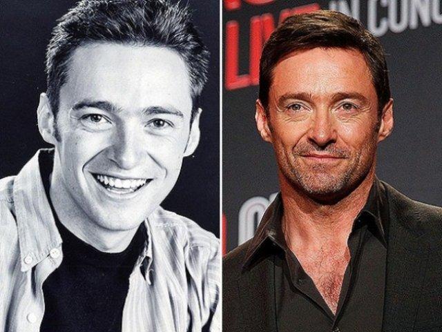 Відомі актори в юності і тепер (фото)