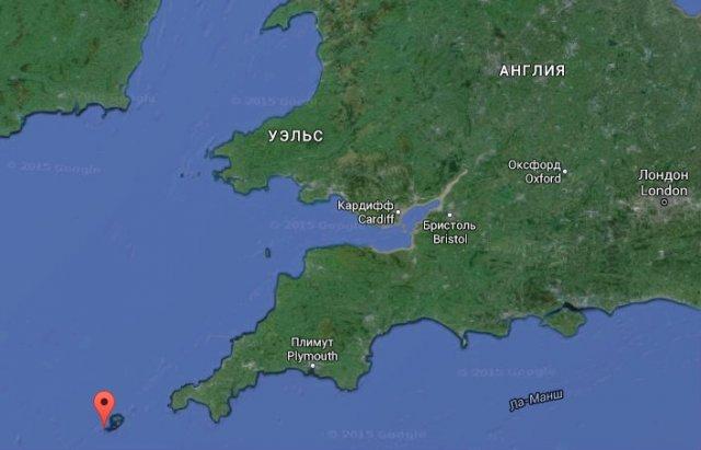 Найменший в світі острів (фото)