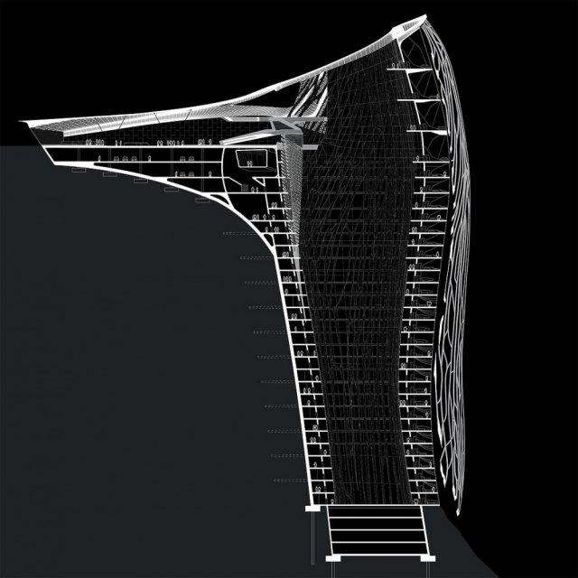 Фантастичний проект готелю в Альпах (фото)