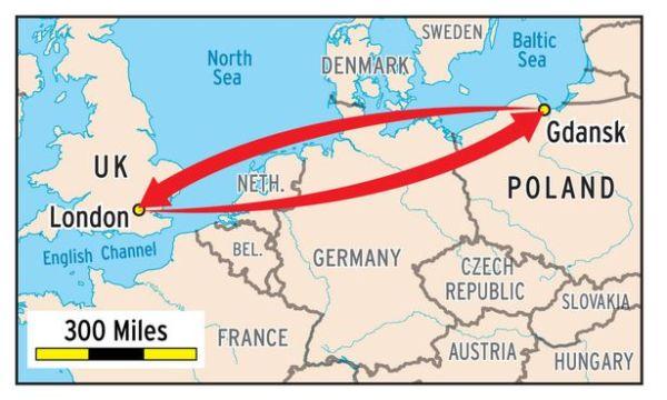 Лондонський студент літає на пари з Польщі, бо це дешевше ніж жити поряд з університетом