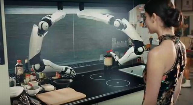 Робот-кухар (відео)