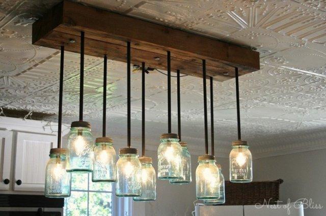 Креативні світильники з підручних засобів (фото)
