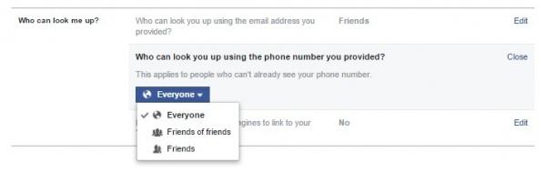 Facebook дозволяє відстежити користувача за номером телефону