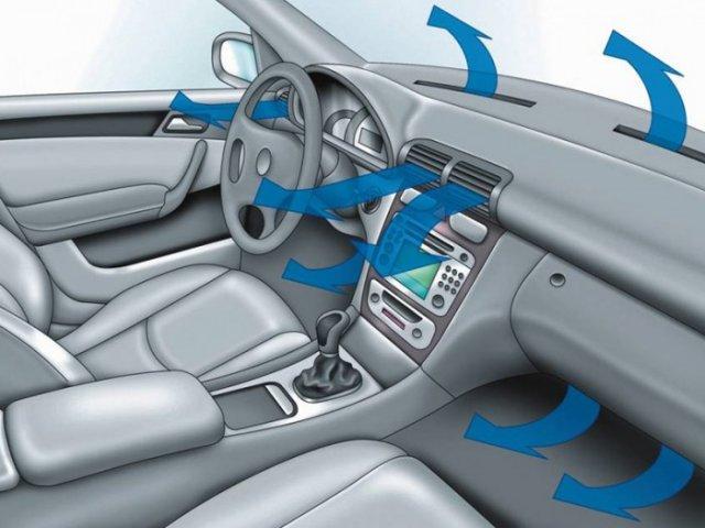 Не вмикайте кондиціонер одразу після того, як завели автомобіль