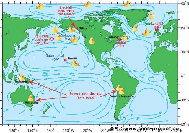 Метеорологія, географія та гумові каченята