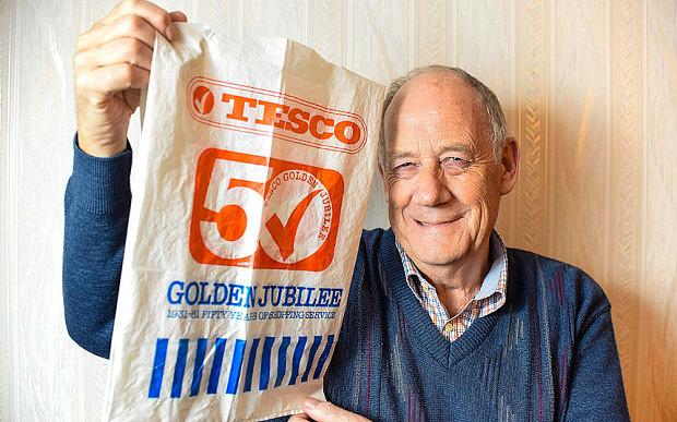 Британський пенсіонер використовує один і той же пакет вже 36 років