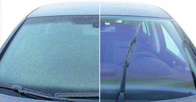 Як прибрати лід зі скла автомобіля? (відео)