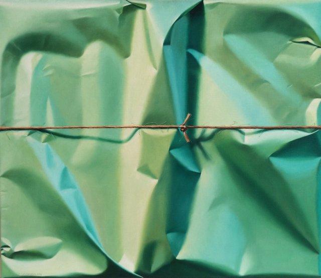 Надзвичайно реалістичні картини, що виглядають як недбало запаковані подарунки (фото)