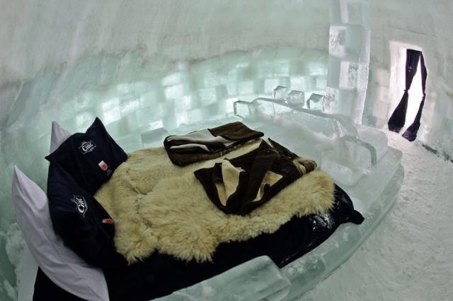 8 найприголомшливіших крижаних готелів у світі (фото)